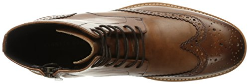 Kenneth Cole Mens Click Sound Short Boots Brown (cognac 901)