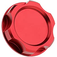 magideal Auto Öl Tank Cap Deckel Kompression Kraftstoff Ventil für Honda Rot