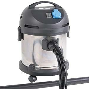 Jago - Aspirateur humide/sec - NSTRSG01 - 20 L - 1400 watts - sur roulettes - divers accessoires - 1 filtre HEPA - 1 sac d'aspirateur