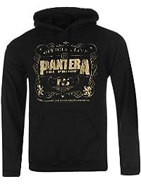 Pantera officiel 101Proof Pull à capuche pour homme Noir Sweat à capuche Pull