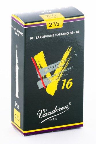 Vandoren SR7125 V16 Sopran Saxophon Blätter - 10 Einheiten