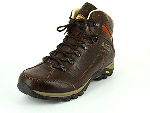 Meindl Shoes Bergamo Identity Men - Marrone Scuro 43 1/3