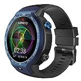 Herren Outdoor Smart Watch LEMFO LEM9 Dual 4G Android 7.1 1.39 Zoll 454X454