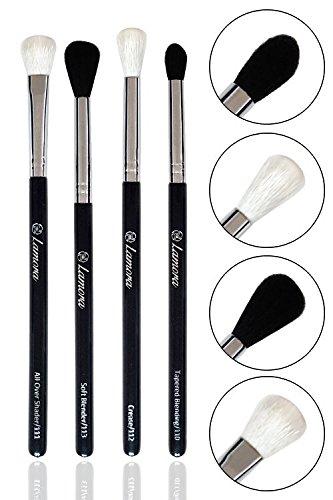Bestes Augen Blender Pinsel Set - 4 Make Up Augenpinsel - Beauty Pinselset zum Verblenden von...