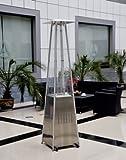 Estufa de Gas Exterior Piramide Inox Mavichi