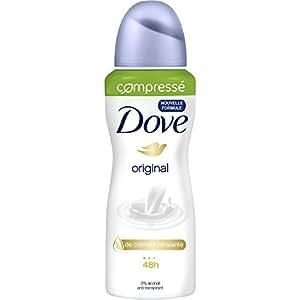 Dove Déodorant Femme Spray Original Anti Transpirant Compressé 100ml - Lot de 2