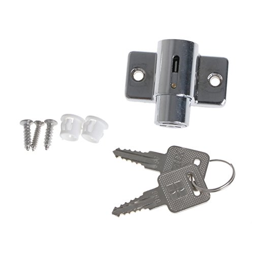 CARRYKT Zinc Sliding Window Patio Screw Door Locking Pin Push Child Safety Lock