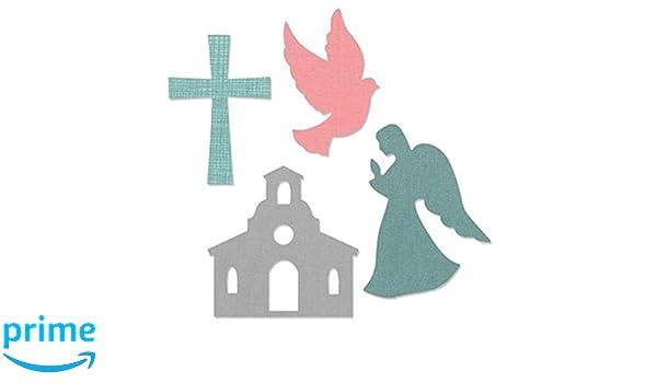 CHURCH SET  662122 Big Shot SIZZIX BIGZ L CUTTING DIE