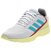 adidas Nebzed, Men's Road Running Shoes, Grey (Dash Grey/Bright Cyan/Yellow Tint),8 UK (42 EU)