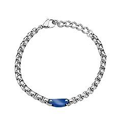 Idea Regalo - Stroili - Bracciale in acciaio bicolore per Uomo