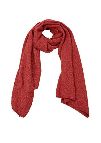 s.Oliver RED LABEL Damen Flauschiger Bouclé-Schal red knit 1 -
