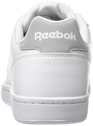 Sneaker Homme bianco Reebok Bassi Reale Blanc Cln Completa Acciaio wxw4Z7q