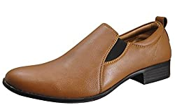 Action Synergy Mens Formal Shoes Tan UNS4503