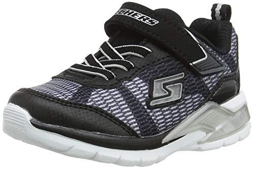 Skechers Baby Jungen Erupters Ii-Lava Waves Sneaker, Mehrfarbig (Black/Silver Bksl), 26 EU (Jungs Schuhe Skechers Sportliche)