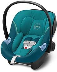CYBEX Gold Seggiolino Aton M i-Size, Include SensorSafe, per Bambini da 45 cm a 87 cm, Max. 13 kg, River Blue