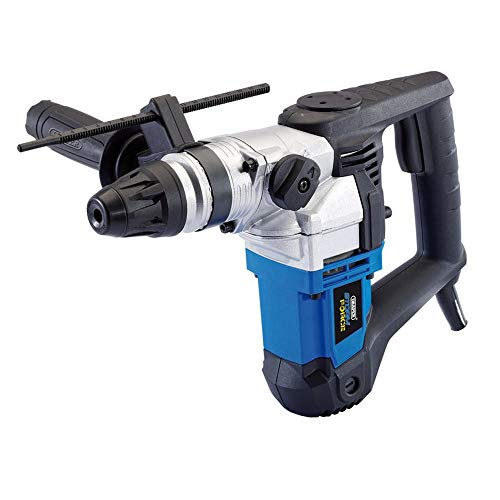 Draper storm force sds+ rotary hammer drill kit with rotation stop (900w) -