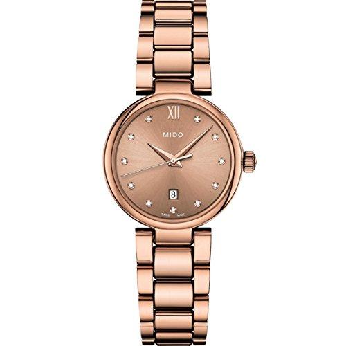 Mido Women's Baroncelli II Diamond 29mm Quartz Analog Watch M022.210.33.296.00