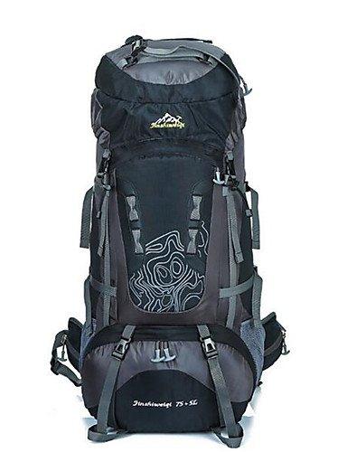 HWB/ 80 L Rucksack Camping & Wandern / Klettern / Reisen Draußen / Legere SportWasserdicht / Wärmeisolierung / Skifest / tragbar / Blue