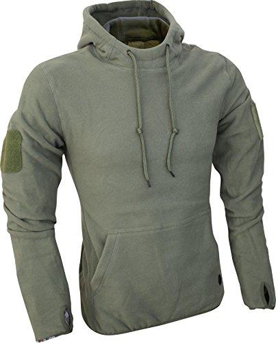 Viper Herren Taktische Fleece Hoodie Grün größe 3XL (Militär Armee Kleidung)