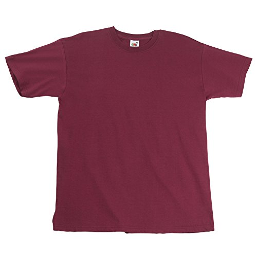Fruite of the Loom Super Premium T-Shirt, Burgund, Gr.M M,Burgund