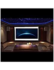 "QAWACHH 100"" Manual Portable Projector Screen for Home,Office"