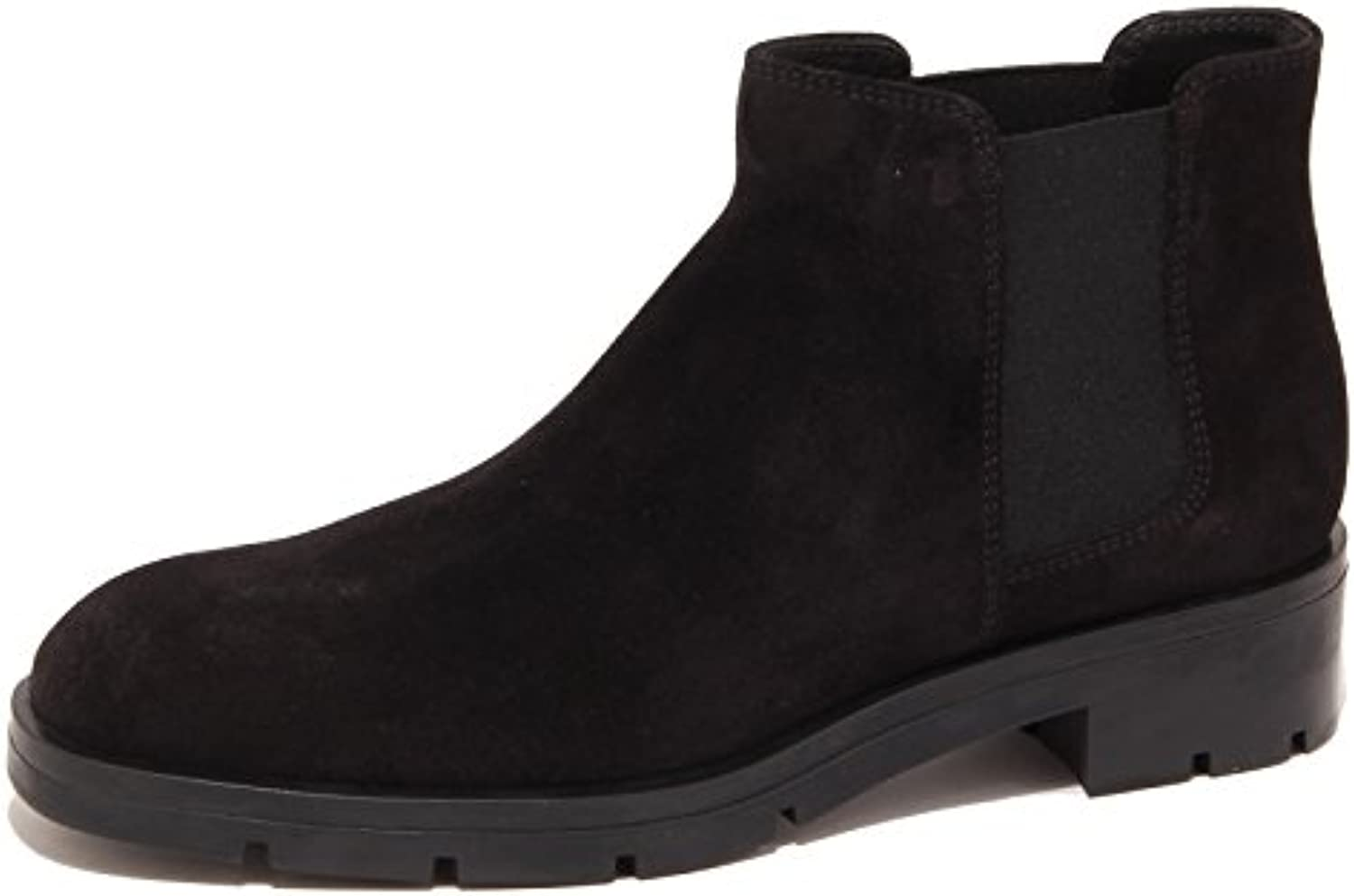 3259P beatles TOD'S GOMMA PESANTE nero stivaletto donna boot woman