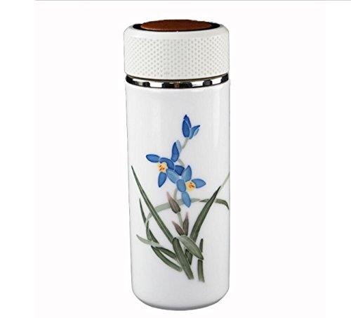 Isolierung Cup Keramik Doppel-Business-Geschenke Segen 2 6 × 2 6 × 7 3 Zoll,Bluegrass