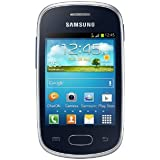 Samsung Galaxy Star S5280 Smartphone (7,6 cm (3 Zoll) Touchscreen, 1GHz, 512MB RAM, 4GB Speicher, 2 Megapixel Kamera, Android 4.1) noble schwarz