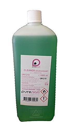 Grand CLEANER Dégraissant 1 LITRE, pour Gel UV et Faux