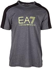 Emporio Armani EA7 t-shirt manches courtes ras du cou homme gris