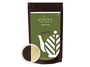 Avataa Green Tea (Super Fine Grade) - Pure Unblended Green Tea from Nilgiris. All Natural, Free from Preservatives, Artificial Flavours and Added Sugars. Loose Leaf Tea (100 Grams/3.5 Oz/50 Cups)