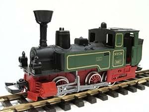 NewRay - Dickie Locomotive à vapeur avec LGB Accouplements, échélle G Jardin ferroviaire IIm