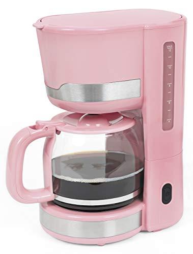 Exquisit FS 7102 ppi Frühstücksset 3 in 1 pastellpink/Kaffemaschine, Wasserkocher und Toaster in...