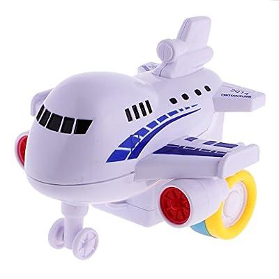 MagiDeal 1 Stück Karikatur Flugzeug Spielzeug für Babys und Kleinkinder Geschenke von MagiDeal