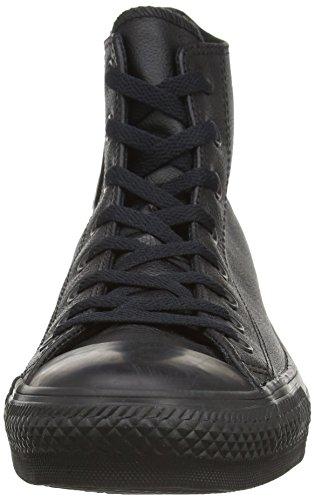 Converse Chuck Taylor Core Lea Hi, Unisex - Erwachsene Sneaker Schwarz