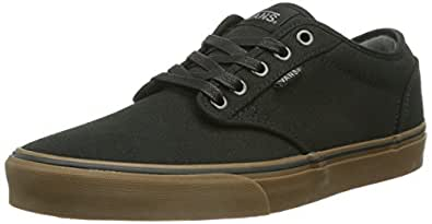 Vans Atwood, Sneakers Basses homme, Noir (12 Oz Canvas/Black/Gum), 41 EU