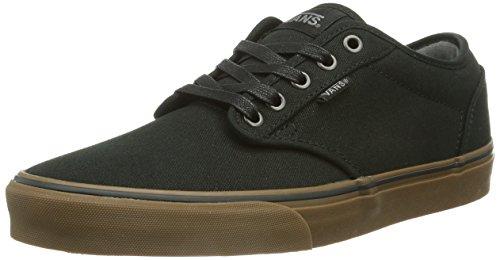 Vans ATWOOD, Herren Sneakers, Schwarz (Black/Gum), Gr. 39 EU / 6 UK (Womens Slipon Vans Schuhe)