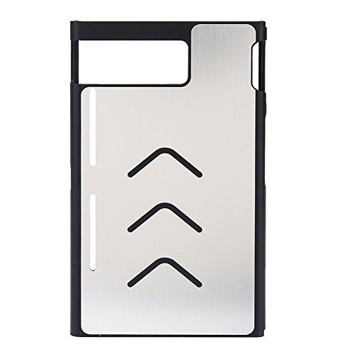 vanpower Aluminium Wasserdicht Skin Case Schutzhülle Abdeckung Rutschfeste Shell für Nintendo Ausschalter (Silber) One Xl Carry Case