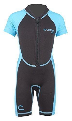Scubatec Neopren-Lycra Kindershorty, blau, 80-86 (4XS)