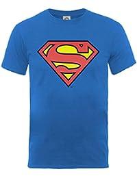 DC Comics Superman Shield Bleu Enfant T-shirt Officiel Autorisé Movie