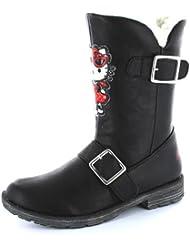 Hello Kitty-Hiver Woolies pour bottes Noir