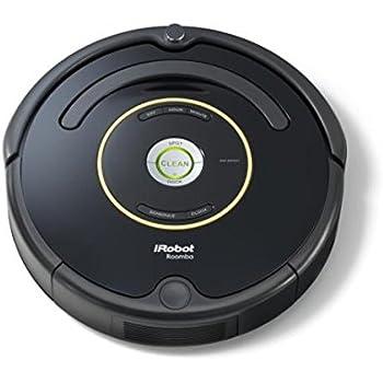 iRobot Roomba 650 Saugroboter (hohe Reinigungsleistung mit Dirt Detect, reinigt alle Hartböden und Teppiche, geeignet bei Tierhaaren, Reinigung nach Zeitplan) schwarz
