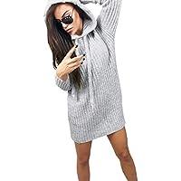 Yvelands Blusa para Mujer Tops Casual Jersey de Manga Larga Sudadera con Capucha Jerseys Sudadera Activa