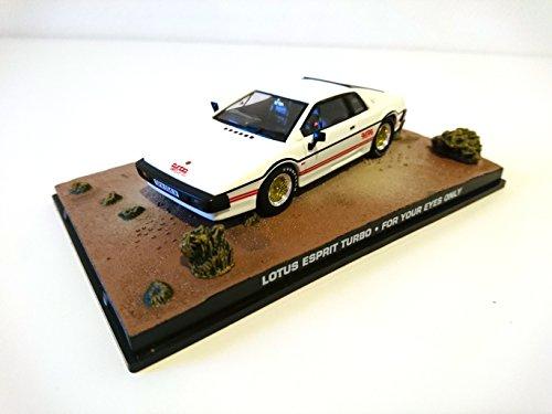 James Bond Lotus Esprit Turbo (White) 1980 007 for Your Eyes Only 1/43 (DY068) (White Auto James)