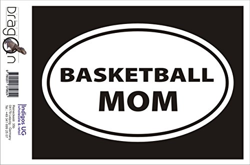 T-Shirt Herren - BASKETBALL MOM Schwarz