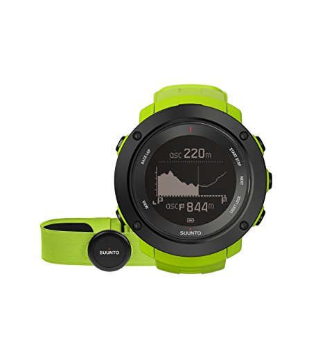 Suunto Ambit3 Vertical HR Uhr, Lime, One Size