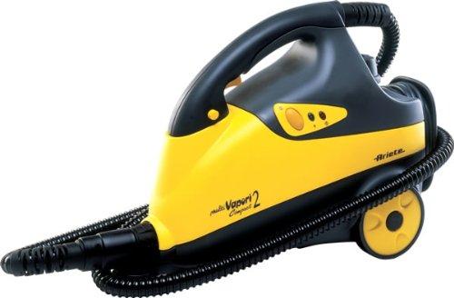 Ariete 4208 limpiador a vapor - Vaporeta (Cilindro, 1.7L, 6m, 1600W, 220-240V, 50/60 Hz) Negro, Amarillo