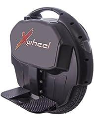 Original XWheel X 1 en negro - equilibrio del uno mismo Monociclo eléctrico incl. Luz, Energía De La Batería y mucho más