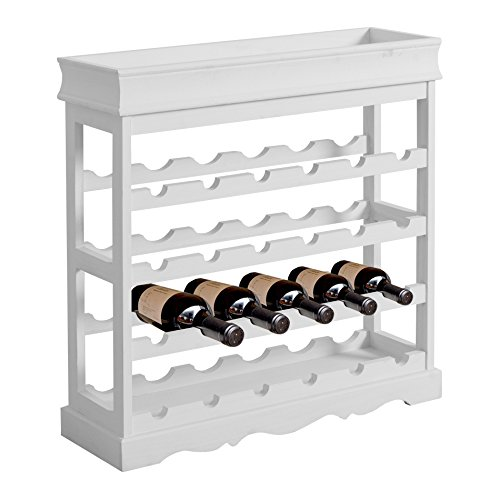 Rebecca srl cantinetta portabottiglie mobile vino 24 for Cantinetta vino amazon