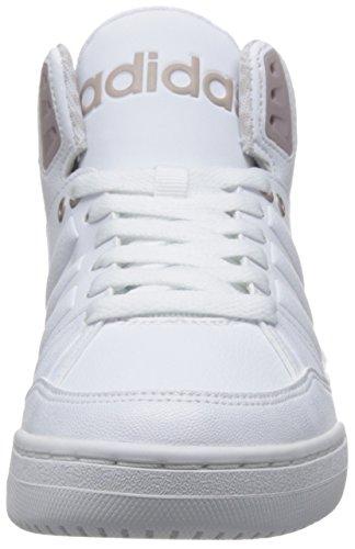 adidas Play9tis W, Scarpe da Ginnastica Donna Bianco (Ftwbla/Ftwbla/Grmeva)